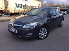 2010 Vauxhall astra J - new shape - 2 former keepers - full service history - £30/year road tax