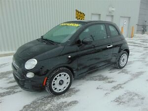 2012 Fiat 500C ** DÉCAPOTABLE + BAS MILLAGE ** WOW **