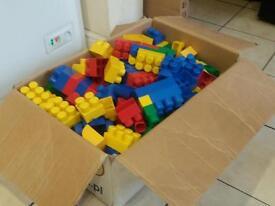 Big box of MEGA BLOCKS