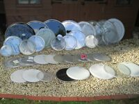 Drum Heads - Bank Holiday Clearout !!! 40+ heads All sizes REMO Evans etc £3-£25