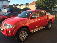 Mitsubishi Raging Bull Special Edition 2009. 2.4L Diesel, automatic