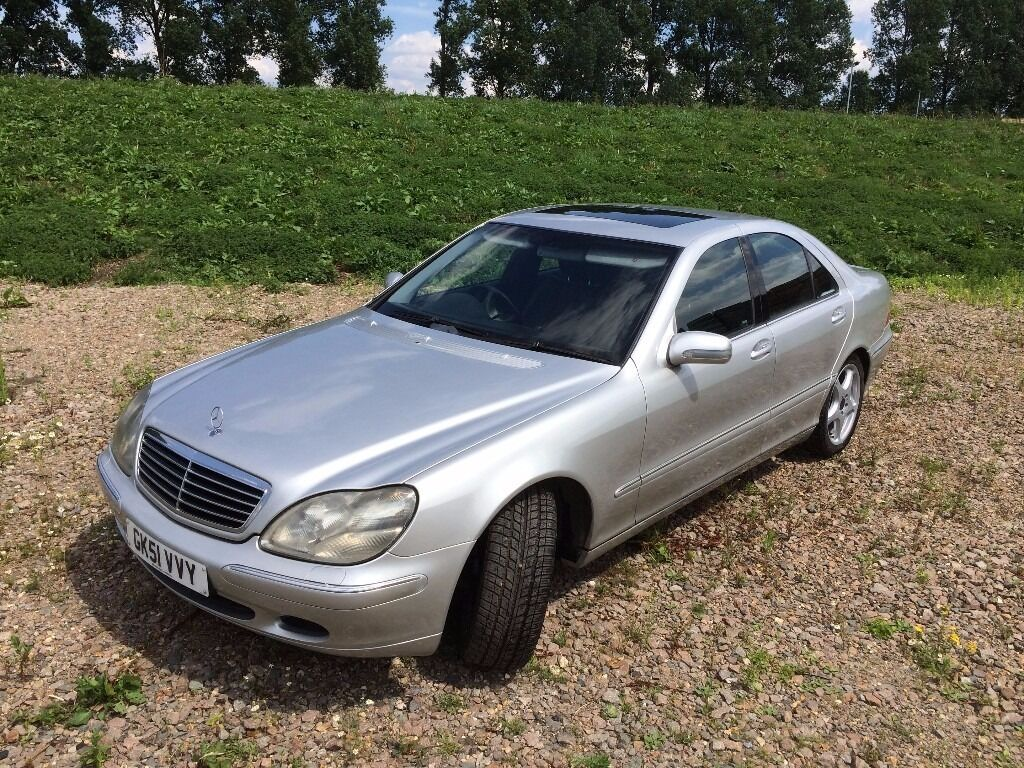 2001 mercedes s 320 cdi auto silver w220 in soham cambridgeshire gumtree. Black Bedroom Furniture Sets. Home Design Ideas