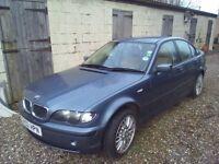 BMW 320D SE Saloon 2002 Manual / SPARES OR REPAIR
