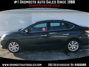 2014 Nissan Sentra HEATED LEATHER,REMOTE START,NAV,CAMERA
