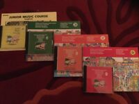 Junior Music Course for Keyboard and Song Book with CDs