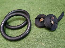 Olympic rings for crossfit gym training