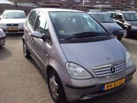 CLEAN LEFT HAND DRIVE MERCEDES BENZ A CLASS, DRIVES EXCELLENTLY, AIRCONDITIONED WITH FULL OPTIONS...