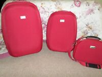 3 PIECES OF JANE SHILTON LUGGAGE USED ONCE