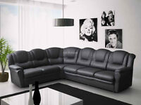 Luxury 7 seater corner sofa available for delivery before christmas