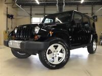 2011 Jeep WRANGLER UNLIMITED SAHARA UNLIMITED.4X4.2 TOITS.DÉMARR