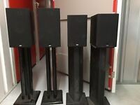 B&W Bowers & Wilkins Home Cinema System Speakers 686, 685, HTM62, ASW608