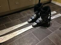 K2 Skii's, bindings and boots
