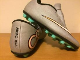 Nike Mercurial football boots size 1