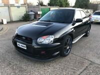 SUBARU IMPREZA WRX STI TYPE UK 517 BHP 2.1 FULLY FORGED