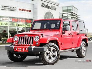 2016 Jeep Wrangler Unlimited SAHARA | ONE OWNER | SAVE FROM NEW