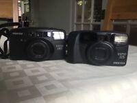 2 Pentax film cameras