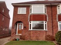 Three Bedroomed Newly Refurbished Semi Detached House