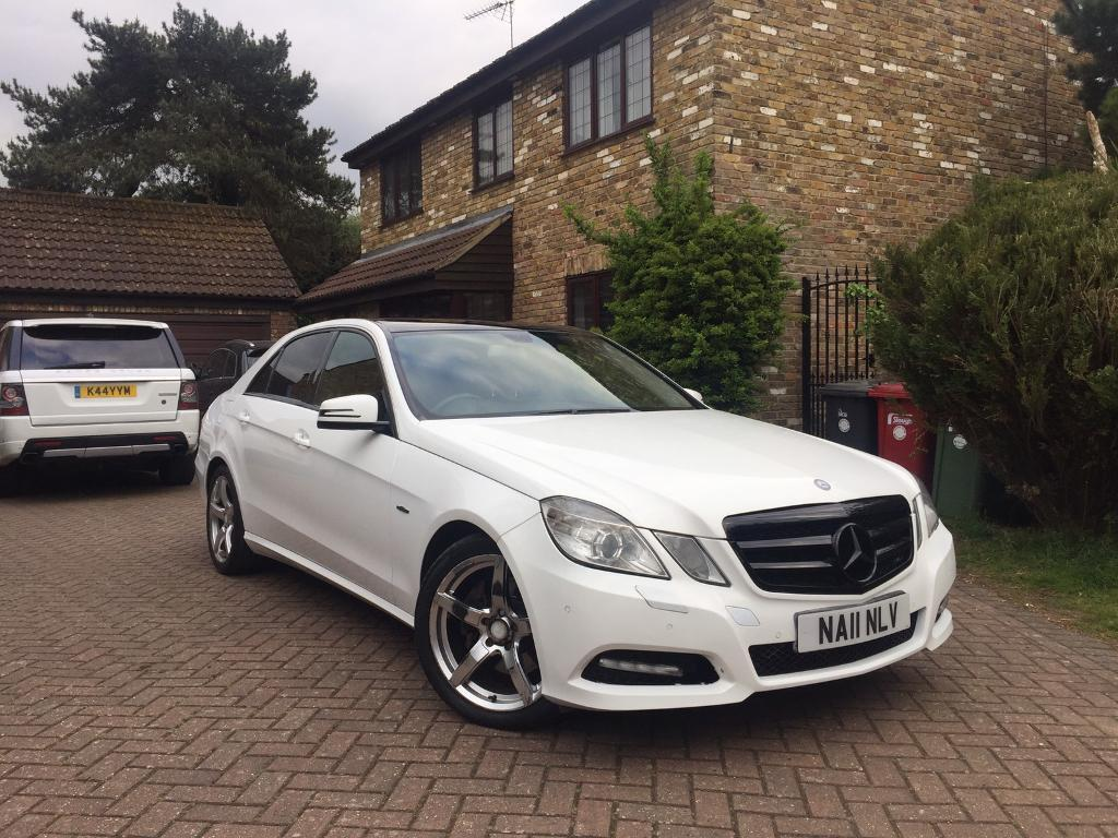 2011 mercedes e220 cdi blueefficency auto in slough. Black Bedroom Furniture Sets. Home Design Ideas