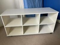 Wooden Storage Unit with 6 compartments