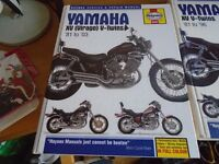 Yamaha XV V-Twins Haynes Service Manual