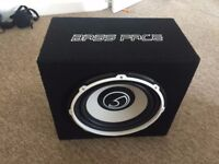 Bass Face Car Subwoofer with built-in Amp 1300W 12inch *MUST SELL*