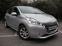 Peugeot 208 Active 5dr **SAT NAV++0 TAX TO PAY** (silver) 2013