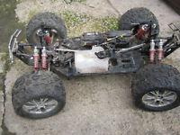 xtm monster mt rc car spares or repair