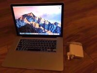 "Apple MacBook Pro 15"" 2.2ghz i7 quad core CPU, 8gb ram, 128gb SSD, hi def screen, Radeon 6750"