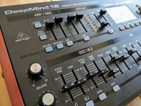 Behringer DeepMind 12D Desktop Analogue Synthesizer Module BOXED & IMMACULATE w/ ALL ACCESSORIES