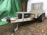 Ifor williams GX 84 plant trailer 2700kg