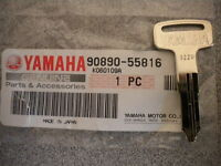 OEM Yamaha blank key suitable for models with built in immobilizer 5sl-82511-08