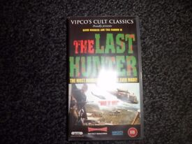 THE LAST HUNTER ( VHS TAPE )