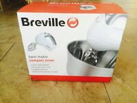Unused and in the box Breville Twin Motor Compact Mixer