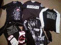 MMA Training Tops, Shorts and Gloves