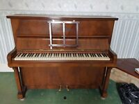 Piano for sale, open to offers. It works however it would need tuning. Buyer to collect and remove.