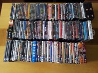 DVDs - collection of 146 DVD's - Films & Series - Several Genres