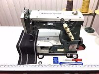 Kansai Special 2 Needle Chainstitch Coverseam Industrial Sewing Machine