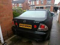 2001 LEXUS IS200 AUTO WITH FULL MOT