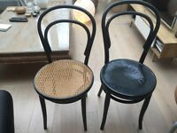 Beautiful vintage bentwood chairs x 2