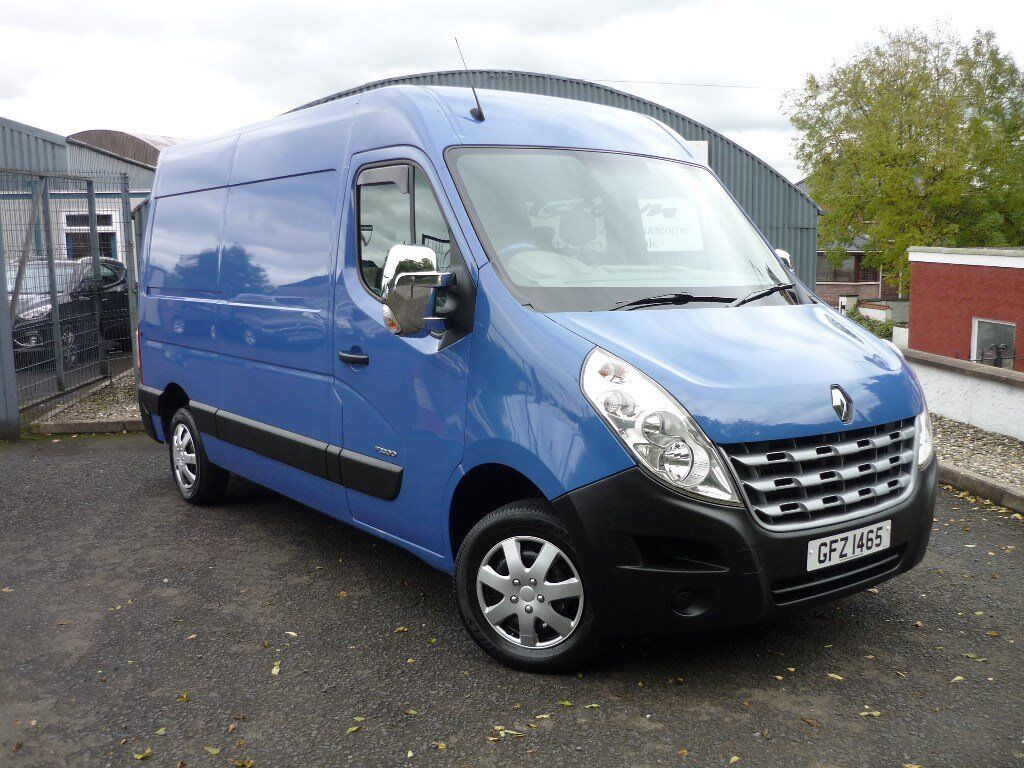 renault master mm33 dci 125 van good history very clean side window in sliding door no bulk head