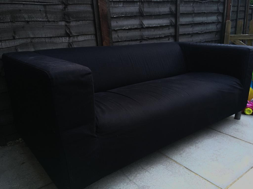Ikea Klippan 2 Seater Sofa Plus Covers