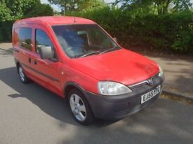 Vauxhall combo crew van 5 seater 1.3cdti ex royal mail low mileage px swaps