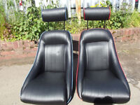 SMALL BUCKET SEATS WITH HEADRESTS TO FIT CLASSIC MINI KIT Car OTHERS AVAILABLE