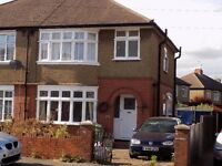 3 Bedroom semi detached house in popular LU3 Austin Road, £1200 per month, NO DSS.