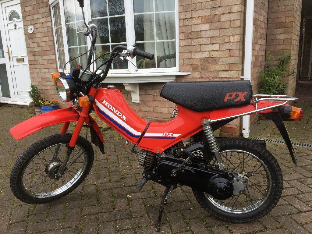 honda px50 50cc moped 1984 a reg in stafford. Black Bedroom Furniture Sets. Home Design Ideas