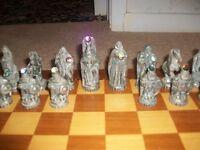 Tudor Mint Myth & Magic Collectors Chess Set