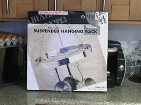 New Vintage Premier Housewares Suspended Hanging Rack (Ideal pots & Pans etc) Free Local Delivery