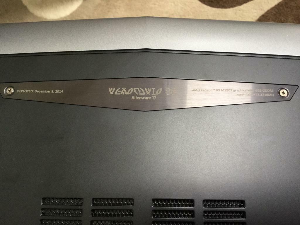 Alienware gaming laptop   in Hebburn, Tyne and Wear   Gumtree