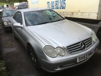 Mercedes clk 270 cdi spare parts available