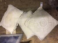 Cushions set of 3